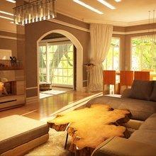 Фотография: Гостиная в стиле Современный, Дом, Дома и квартиры, Картины – фото на InMyRoom.ru