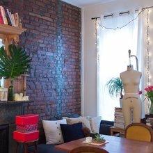 Фото из портфолио Миниатюрная и стильная квартира, площадью 24 кв.м. – фотографии дизайна интерьеров на INMYROOM