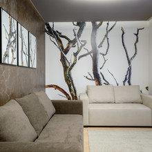 Фотография: Гостиная в стиле Современный, Декор интерьера, Декор, Ремонт на практике – фото на InMyRoom.ru