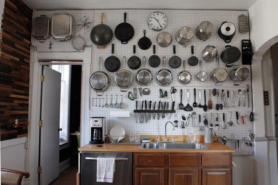 Фотография: Кухня и столовая в стиле , Квартира, США, Дома и квартиры, Библиотека – фото на InMyRoom.ru
