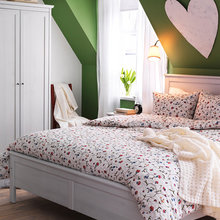 Фотография: Спальня в стиле Кантри, Интерьер комнат, IKEA – фото на InMyRoom.ru