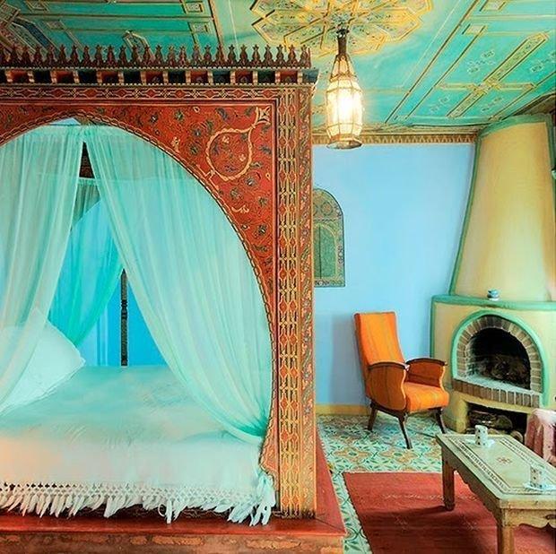 Спальня в турецком стиле