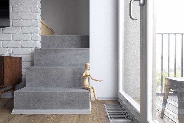 Фотография: Балкон в стиле Скандинавский, Квартира, Студия, Проект недели, Сочи, Монолитный дом, 2 комнаты, 40-60 метров, Антон Сухарев – фото на INMYROOM