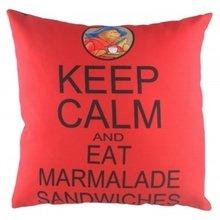 """Подушка с надписью """"Paddington Keep Calm"""""""