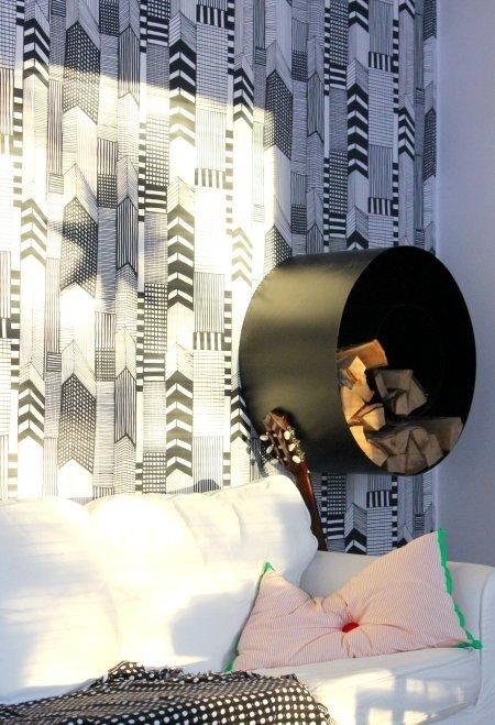 Фотография: Декор в стиле Скандинавский, Спальня, Интерьер комнат – фото на InMyRoom.ru
