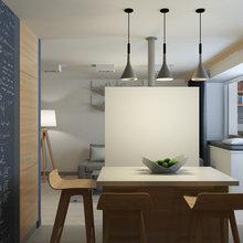 Фотография: Кухня и столовая в стиле Современный, Минимализм, Квартира, Проект недели – фото на InMyRoom.ru