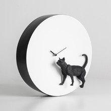 Часы Moon Cat