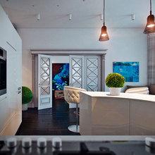 Фото из портфолио Трехкомнатная квартира на Кирочной ул. – фотографии дизайна интерьеров на InMyRoom.ru