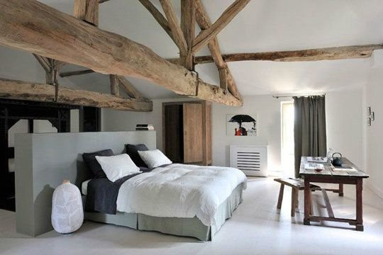 Фотография: Спальня в стиле Скандинавский, Эклектика, Индустрия, Люди – фото на InMyRoom.ru