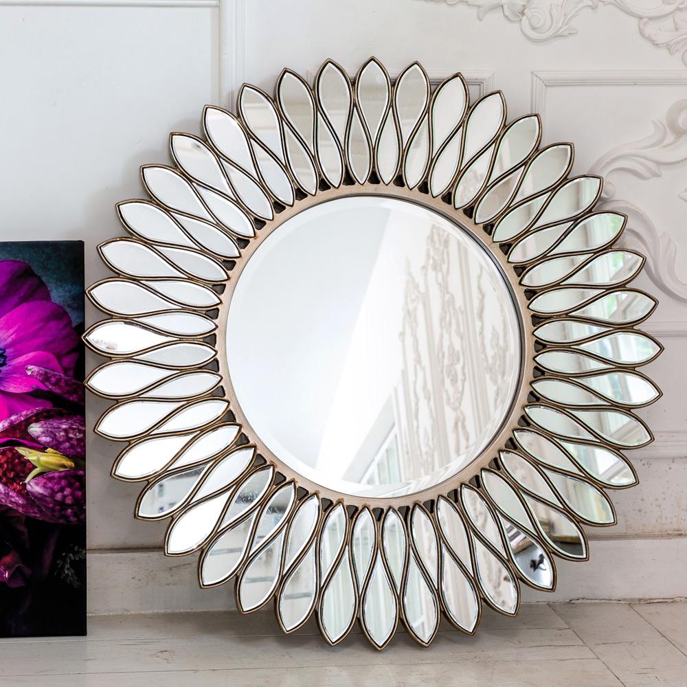 Купить Настенное зеркало сириус с орнаментом из полиуретана, inmyroom, Россия