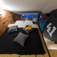 Фотография: Спальня в стиле Лофт, Квартира, Проект недели, Санкт-Петербург, Макс Жуков, ToTaste Studio, 4 и больше, Более 90 метров – фото на InMyRoom.ru