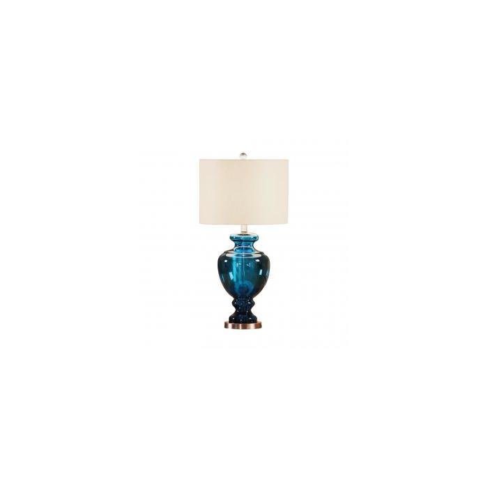 Лампа Glass table lamp with shade