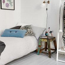 Фотография: Спальня в стиле Скандинавский, Студия, Советы, Белый – фото на InMyRoom.ru