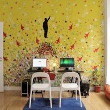 Фотография: Кабинет в стиле Минимализм, DIY, Португалия, Дома и квартиры, Городские места, Хостел, Стрит-арт, Лиссабон – фото на InMyRoom.ru