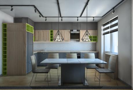 Помогите выбрать лучший вариант кухонного гарнитура из представленного