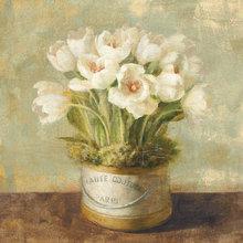 Картина (репродукция, постер): Flower blooming in a pot No. 1 - Данху Най
