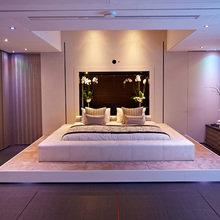Фотография: Спальня в стиле Современный, Хай-тек, Малогабаритная квартира, Квартира, Стиль жизни, Советы – фото на InMyRoom.ru
