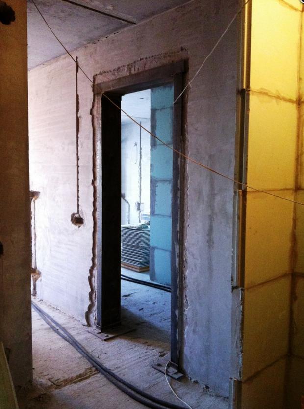 смещение дверного проема ванной разрешение