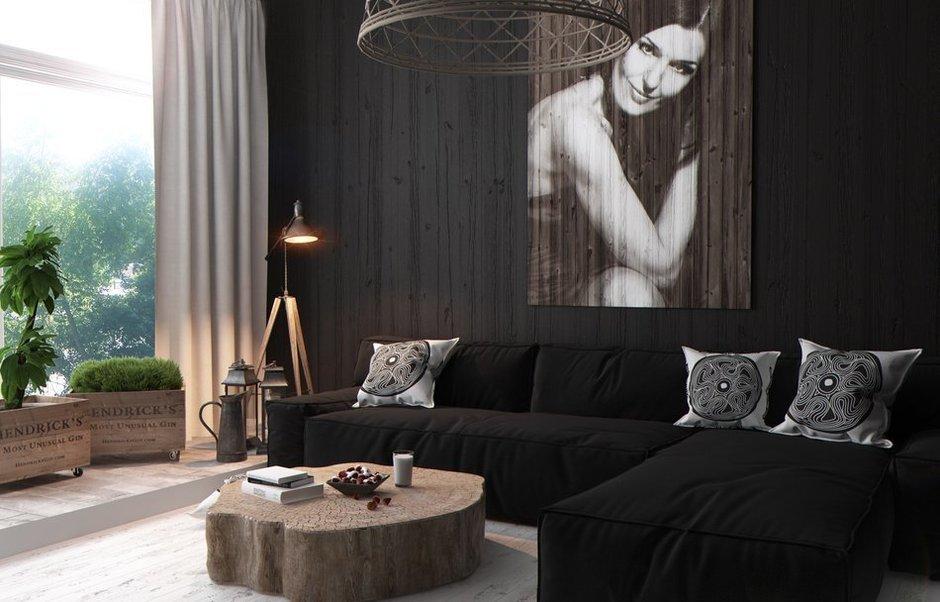 Фотография: Гостиная в стиле Восточный, Квартира, Дома и квартиры, Перепланировка, Переделка – фото на InMyRoom.ru