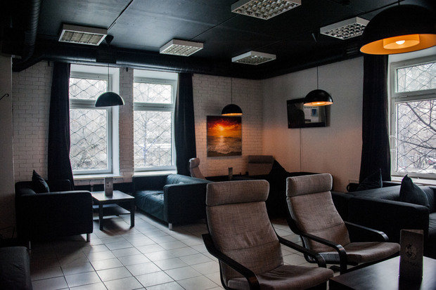 Фото из портфолио Кальянная ДУНЬКА – фотографии дизайна интерьеров на INMYROOM