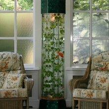 Фотография: Декор в стиле Кантри, Декор интерьера, Малогабаритная квартира, Мебель и свет, Дом и дача, аквариум в интерьере, аквариум – фото на InMyRoom.ru