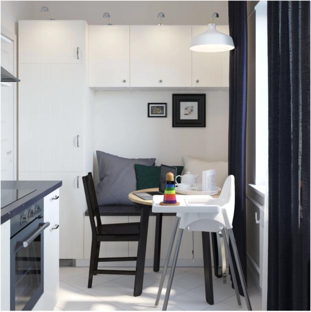 Фотография: Кухня и столовая в стиле Скандинавский, Минимализм, Гид, ИКЕА, П-44 – фото на INMYROOM