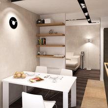 Фото из портфолио Трехкомнатная квартира в ЖК Шуваловские высоты – фотографии дизайна интерьеров на INMYROOM