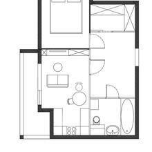 Фото из портфолио Маленькая квартира в скандинавском стиле – фотографии дизайна интерьеров на INMYROOM
