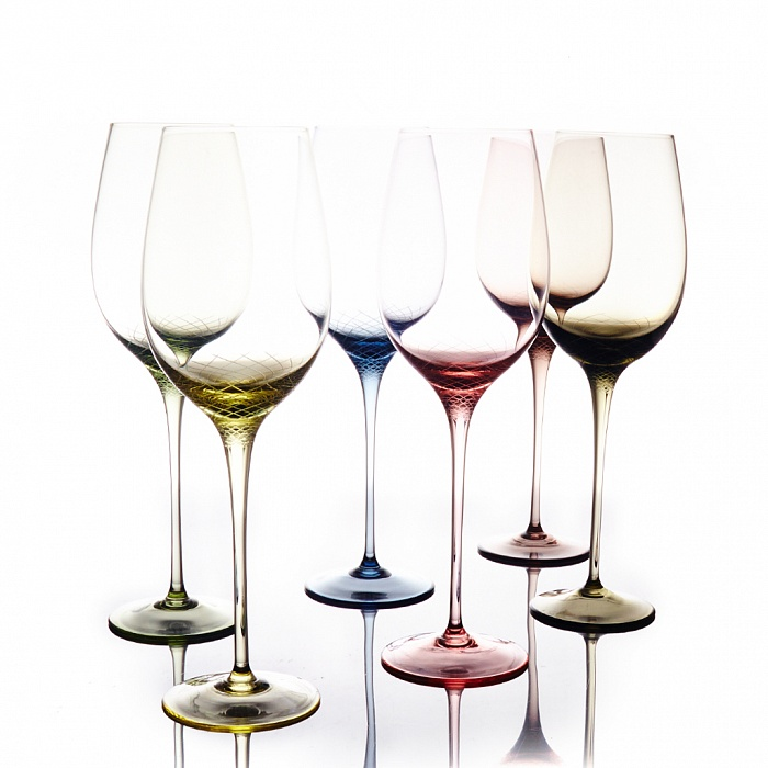"""Набор бокалов для белого вина """"Sera-Irida"""""""