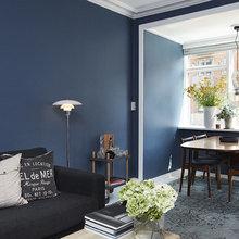 Фото из портфолио Роскошный и интригующий синий цвет в интерьере – фотографии дизайна интерьеров на InMyRoom.ru
