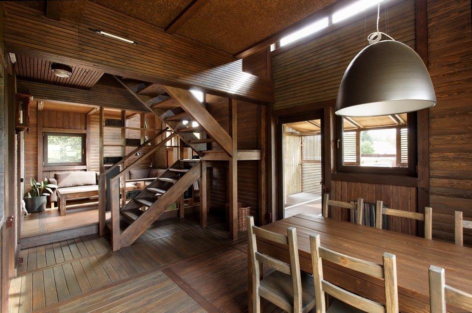 Фотография: Кухня и столовая в стиле , Дом, Дома и квартиры, Проект недели, Дача – фото на InMyRoom.ru