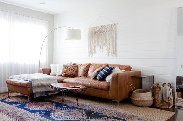 Фотография: Гостиная в стиле Эко, Декор интерьера, уют дома, скандинавский стиль в интерьере, хюгге – фото на INMYROOM