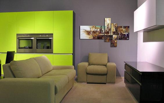 Фотография: Гостиная в стиле Современный, Хай-тек, Декор интерьера, Декор дома, Картины – фото на InMyRoom.ru