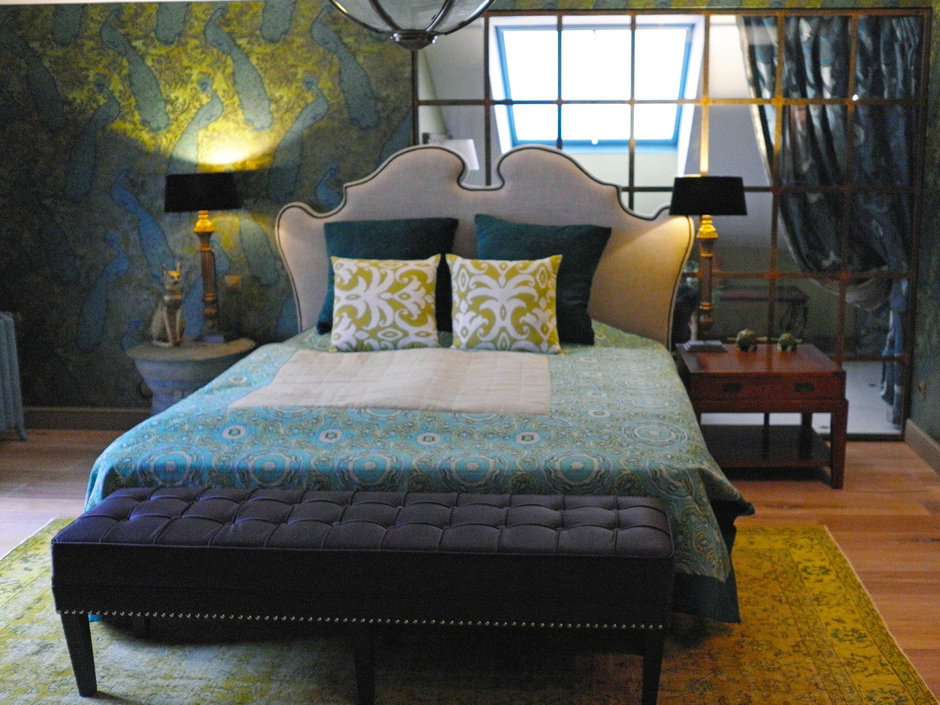 Фотография: Спальня в стиле , Квартира, Eichholtz, Spiridon, Дома и квартиры, Проект недели – фото на InMyRoom.ru