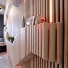 Фотография: Декор в стиле Современный, Эклектика, Кухня и столовая, Интерьер комнат, Проект недели, Перепланировка – фото на InMyRoom.ru