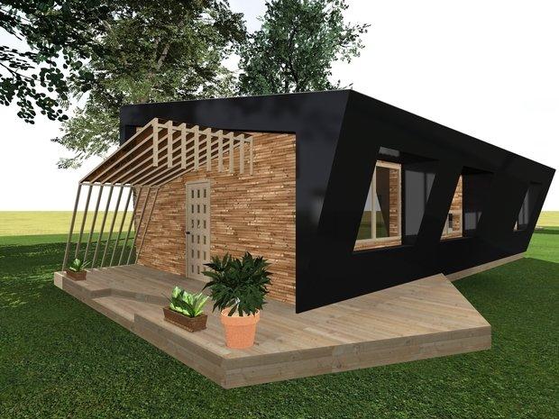 Фото из портфолио Black wood – фотографии дизайна интерьеров на INMYROOM
