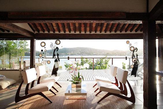 Фотография: Терраса в стиле Восточный, Минимализм, Дома и квартиры, Городские места, Отель, Бразилия – фото на INMYROOM