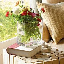 Фотография: Флористика в стиле , Квартира, Цвет в интерьере, Дома и квартиры, Пентхаус, Красный – фото на InMyRoom.ru