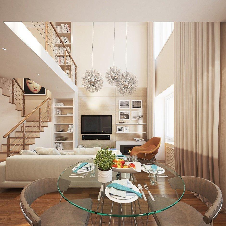 Фотография: Гостиная в стиле Современный, Квартира, Дома и квартиры, IKEA, Проект недели, Москва – фото на InMyRoom.ru