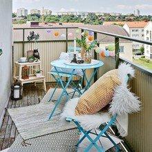 Фотография: Балкон в стиле Скандинавский, Декор интерьера, Советы, Fiskars – фото на InMyRoom.ru