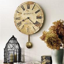 Фотография: Декор в стиле Кантри, Классический, Современный, Декор интерьера, Часы, Декор дома – фото на InMyRoom.ru