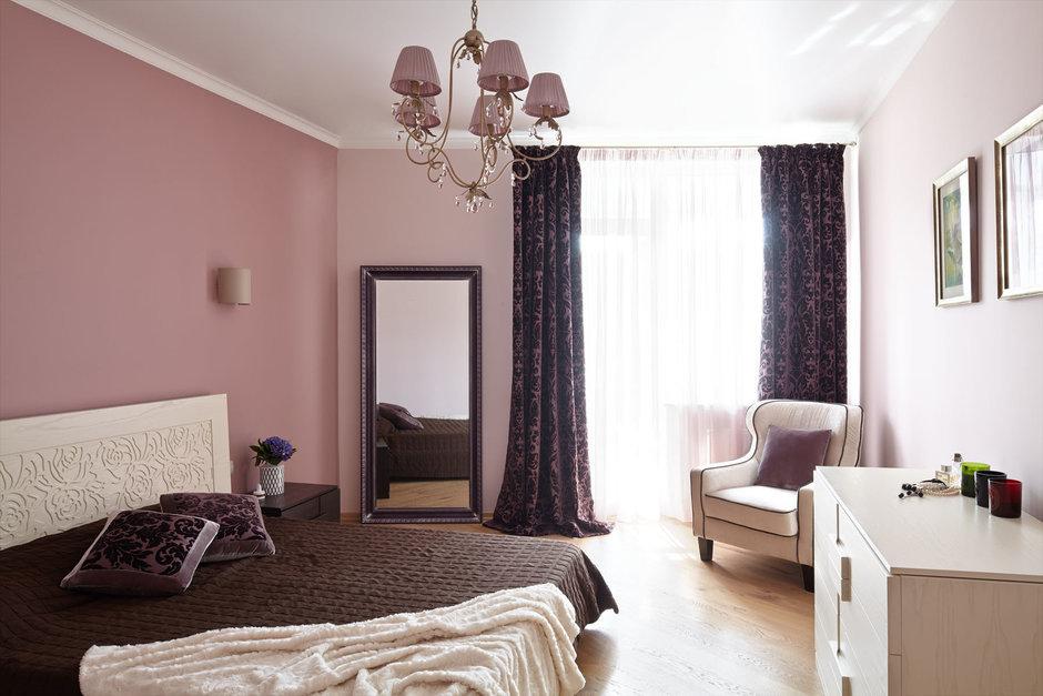 Фотография: Спальня в стиле Современный, Классический, Квартира, Проект недели – фото на InMyRoom.ru