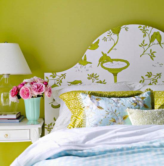 Фотография: Спальня в стиле Прованс и Кантри, Декор интерьера, DIY, Цвет в интерьере – фото на InMyRoom.ru