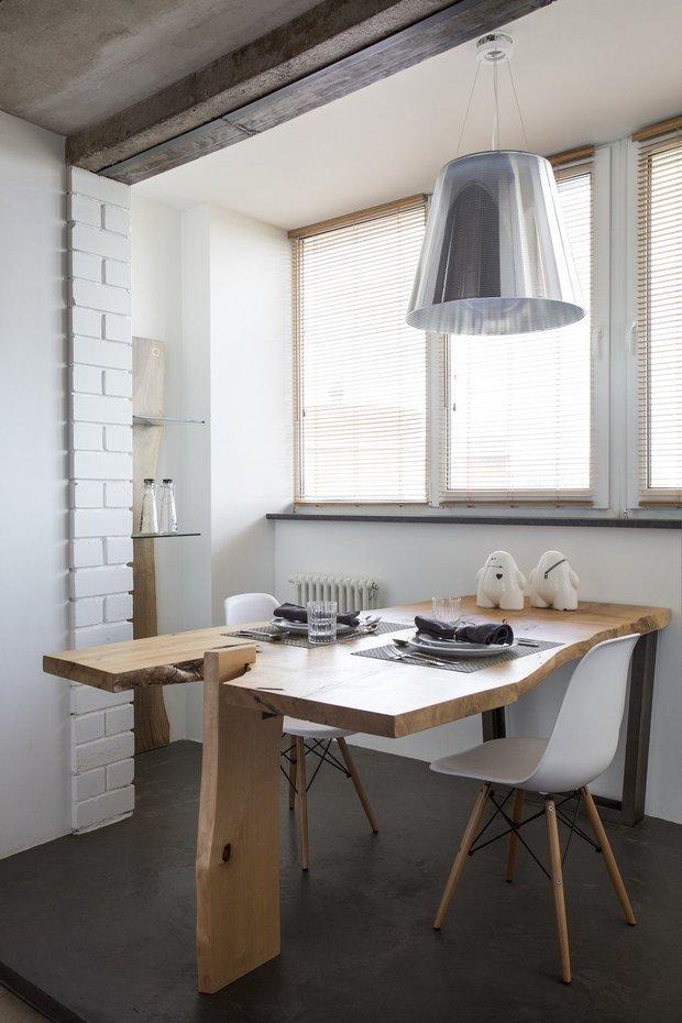 Фотография: Кухня и столовая в стиле Эко, Лофт, Квартира, Студия, Советы, Гид – фото на INMYROOM