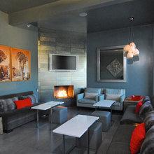 Фотография: Гостиная в стиле Лофт, Современный, Дома и квартиры, Городские места, Отель – фото на InMyRoom.ru