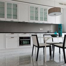 Фотография: Кухня и столовая в стиле Современный, Минимализм, Квартира, Декор, Проект недели – фото на InMyRoom.ru