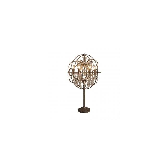 IRON ORB TABLE LAMP