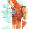Принт Iron Man А1