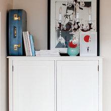 Фотография: Декор в стиле Классический, Современный, Декор интерьера, Малогабаритная квартира, Квартира, Цвет в интерьере, Дома и квартиры, Стены – фото на InMyRoom.ru
