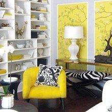 Фотография: Гостиная в стиле Кантри, Классический, Современный, Декор интерьера, Дизайн интерьера, Цвет в интерьере – фото на InMyRoom.ru